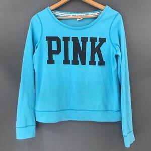 PINK Victoria's Secret Blue Women's Sweater, L